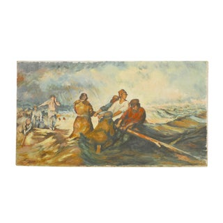 Men at Sea Canvas Painting