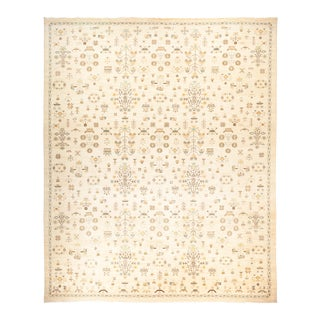 """Eclectic Hand Knotted Area Rug - 12' 4"""" X 14' 9"""""""