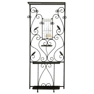 French Wrought Iron Hallstand