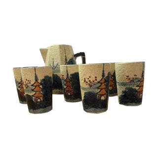 Japanese 7 Piece Beverage Set