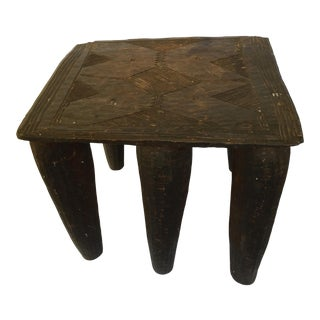 Vintage African Nube Stool