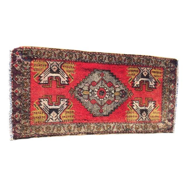 Anatolian Persian Rug - 1'6'' x 3'5'' - Image 1 of 9