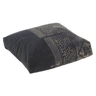 Batik Indigo & White Floor Pillow