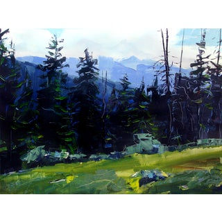 Holy Cross Wilderness, Colorado Painting by David Shingler
