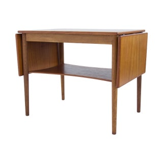 Borge Mogensen Drop Leaf Side Table