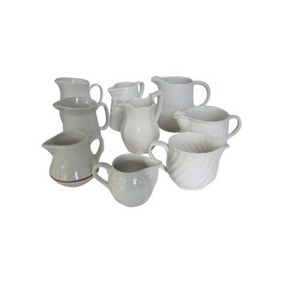Collection of Cream Pitchers - Set of 9