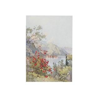 1905 Ella du Cane Print, Menaggio, Lago di Como