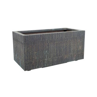 Massive Cast Bronze Resin Planter by Forms and Surfaces