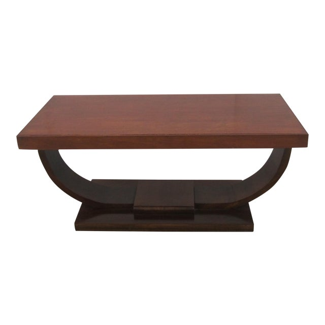 1940s art deco coffee table chairish. Black Bedroom Furniture Sets. Home Design Ideas