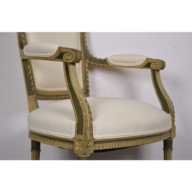 Antique Early 1900s French Armchairs - A Pair | Chairish