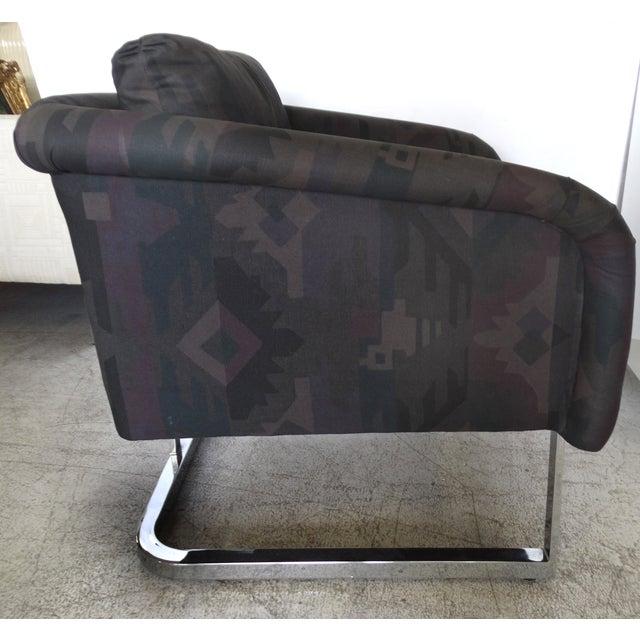 Image of Milo Baughman & Thayer Coggin Club Chairs - a Pair