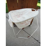 Image of Vintage 1930s Industrial Laundry Cart