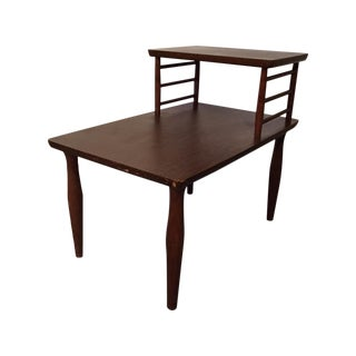Danish Modern Vintage Viko Baumritter Step Table