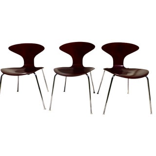 Ross Lovegrove Orbit Wood Chairs by Bernhardt - 3