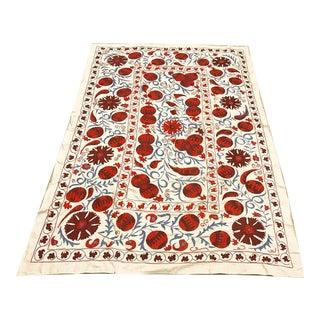 Handmade Suzani Pomegranate Pattern Textile