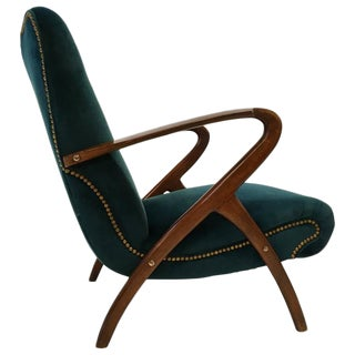 Sculptural Italian Lounge Chair