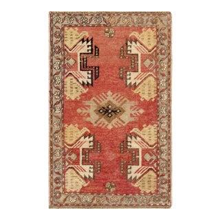 "Pasargad Vintage Sivas Wool Area Rug - 1'8"" x 2'7"""