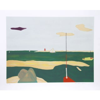 Marion McClanahan - Purple Cloud 21 Aps Lithograph