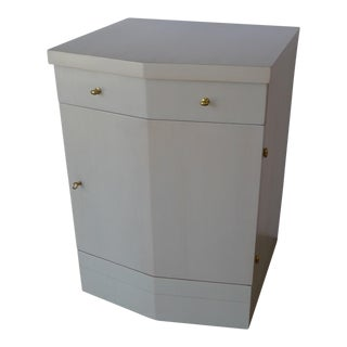 Customizable Paul Marra Pinnacle Nightstand in Gray Wash Over Douglas Fir