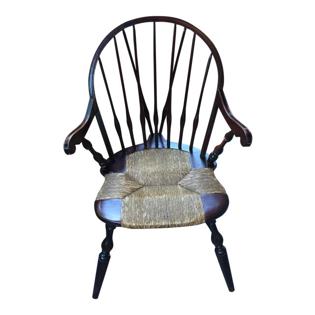 Antique Windsor Bow Chair - Image 1 of 3