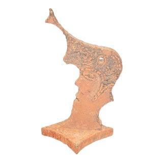 Vintage Cast Iron Elvis Presley Head Statue