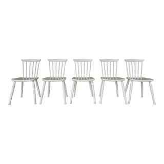 Paul McCobb Planner Group Factory Painted Side Chairs - Set of 5