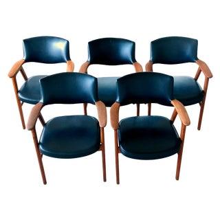 Erik Kirkegaard Dining Chairs - Set of 5