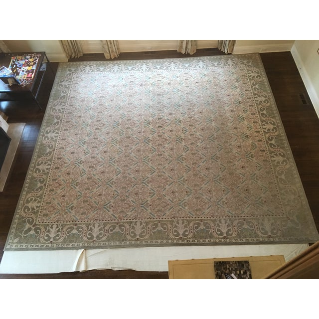 Custom Wool Tufted Rug -- 15′ × 16′ - Image 2 of 5