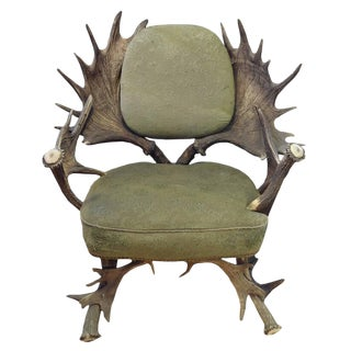 19th Century Bavarian Hunting Lodge Chair