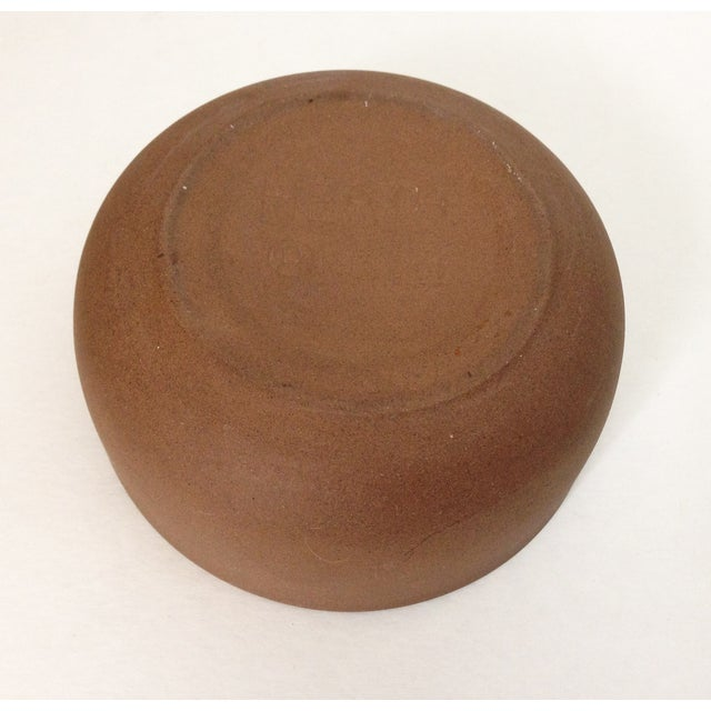 Heath Ceramics Orange Ashtray - Image 4 of 5