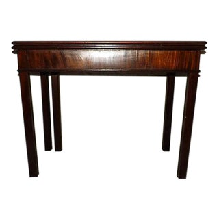 18th-Century Flip-Top Console/Games Table