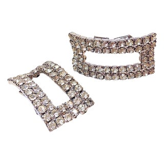 Must Rhinestone Shoe Clips - A Pair