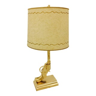 Golden Gun Lamp