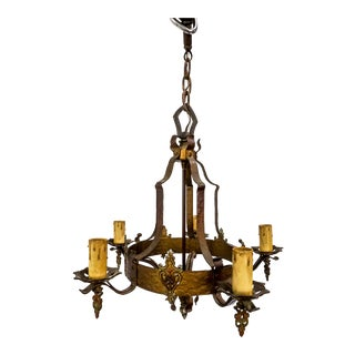 1920's Medieval Style Chandelier
