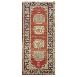 Vintage Persian Khalkhal Rug - 3'8''x10'3''