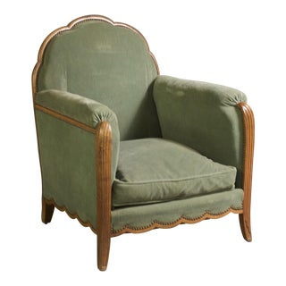 Andre Frechet Pair of 1920s Club Chairs
