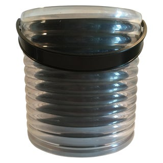 Vintage Sally Designs Lucite Ice Bucket