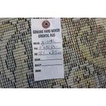 """Image of Blue Cream Turkish Overdyed Rug - 6'1"""" X 10'"""