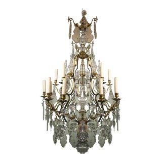 Antique Chandelier Baccarat