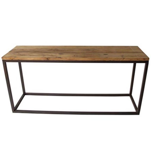 Image of Steel & Elm Console Table