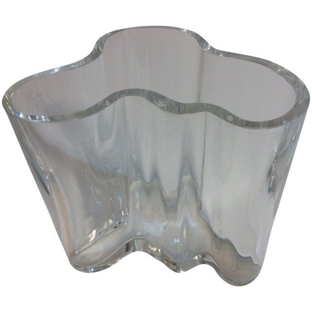 Signed Alvar Aalto Crystal Savoy Vase - Image 1 of 7