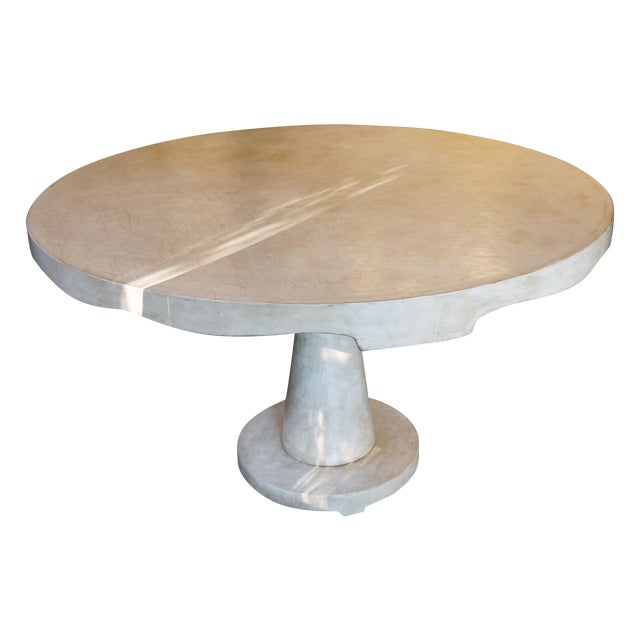 Moroccan Inspired Round Center Table - Image 2 of 8