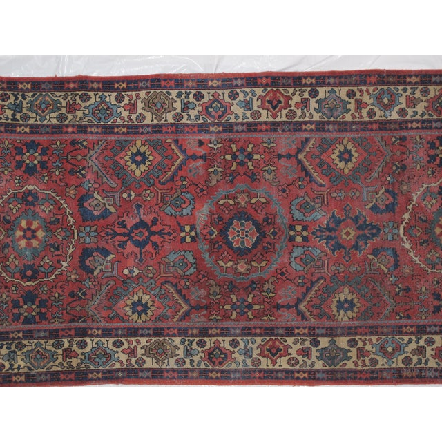 "Leon Banilivi Antique Sultanabad Rug - 4' X 9'3"" - Image 4 of 5"
