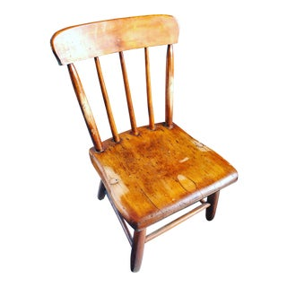 American Primitive Child's Windsor Chair