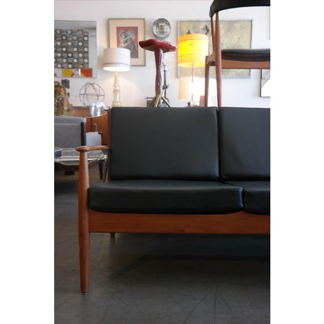 Image of Grete Jalk for France & Son Teak Sofa