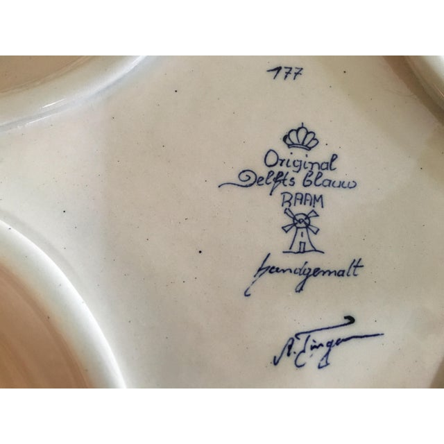Delft Diamond Shaped Bowl - Image 5 of 6