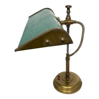 Vintage Industrial Banker's Task Lamp