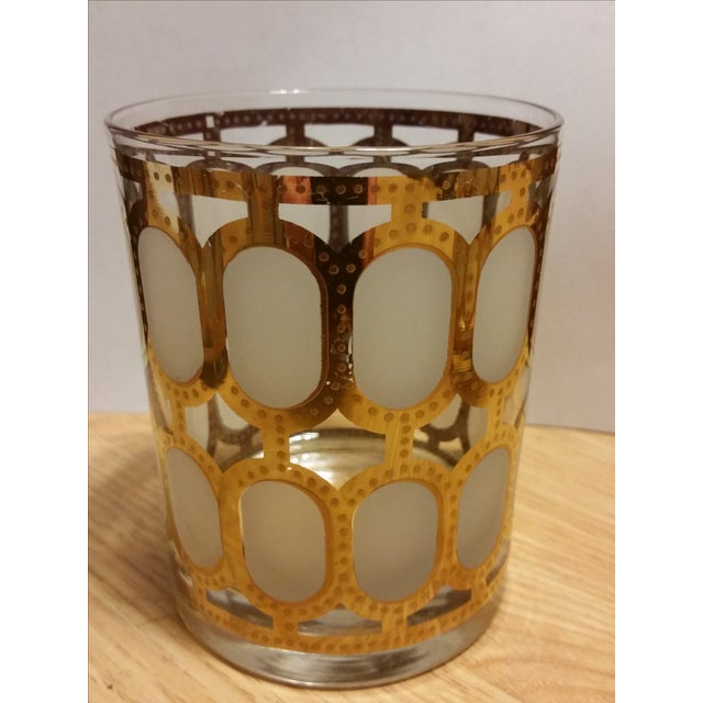 Cera Glass Old Fashioned Tumblers - Set of 4 - Image 3 of 8