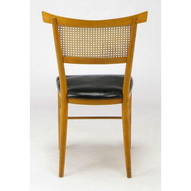 Image of Four Paul McCobb Maple Perimeter Group Dining Chairs