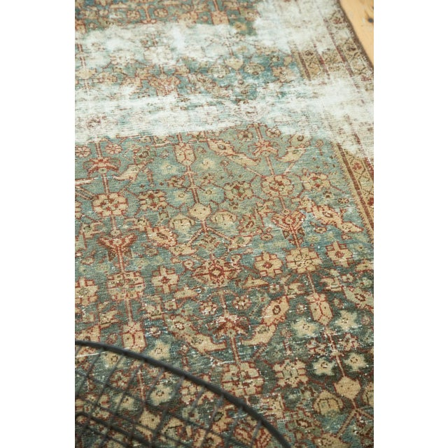 "Antique Malayer Rug Runner - 3'6"" x 13'3"" - Image 7 of 10"